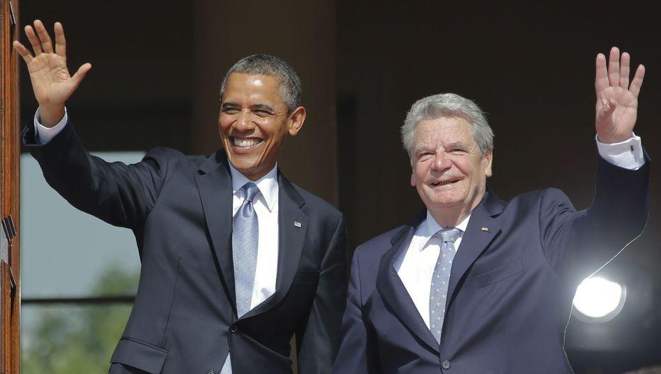 Bundespräsident Gauck mit US-Präsident Obama: Im Pro-Amerikanismus verfangen?