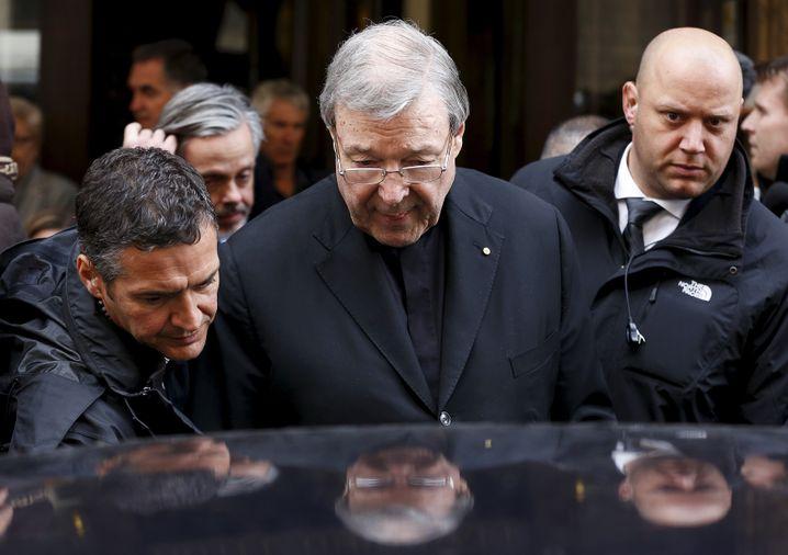 Kardinal George Pell im März 2016 in Rom