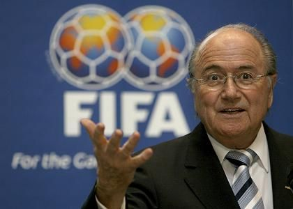 "FIFA President Joseph Blatter: ""I am not bribable."""