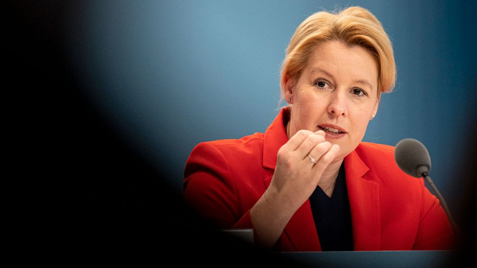 """Franziska Giffey: """"Ich werde bei dieser Entscheidung bleiben"""""""
