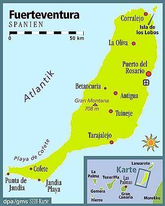 Fuerteventura: Nach Teneriffa zweitgrößte Insel der Kanaren