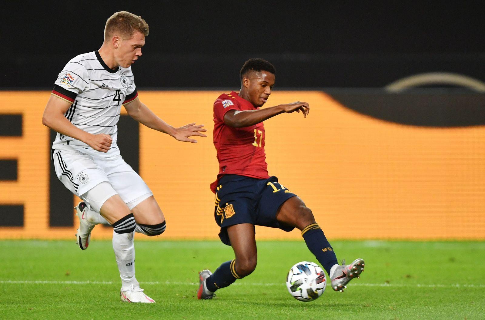 Germany vs Spain, Stuttgart - 03 Sep 2020