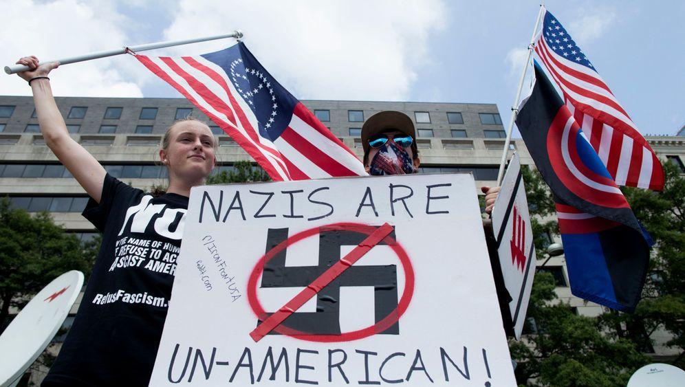 Charlottesville: Demontrationen zum Jahrestag