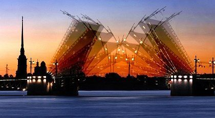 """St. Petersburg: """"A Gem of world culture and Russia's most European city."""""""