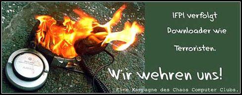 """Boykottaufruf: """"Downloader wie Terrroristen verfolgt"""""""