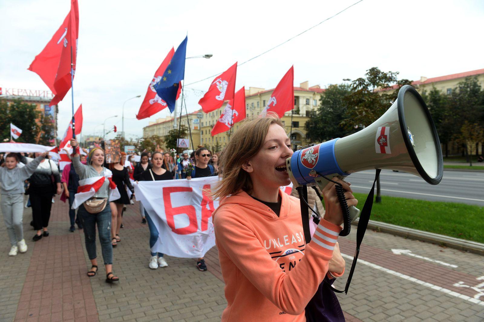 Opposition protests in Belarus, Minsk - 05 Sep 2020