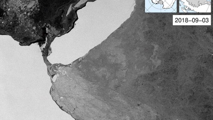 Eisgigant A69 am 3. September 2018