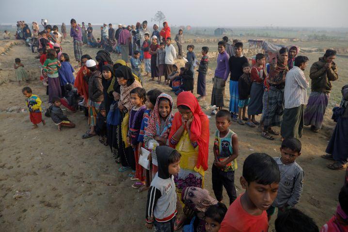 Rohingya-Flüchtlinge (Archiv)