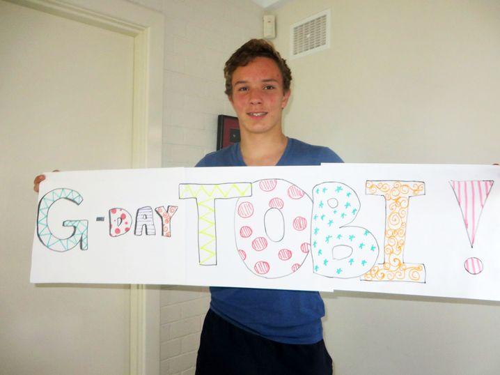 Tobias, 17, in Australien: Pleite, aber glücklich