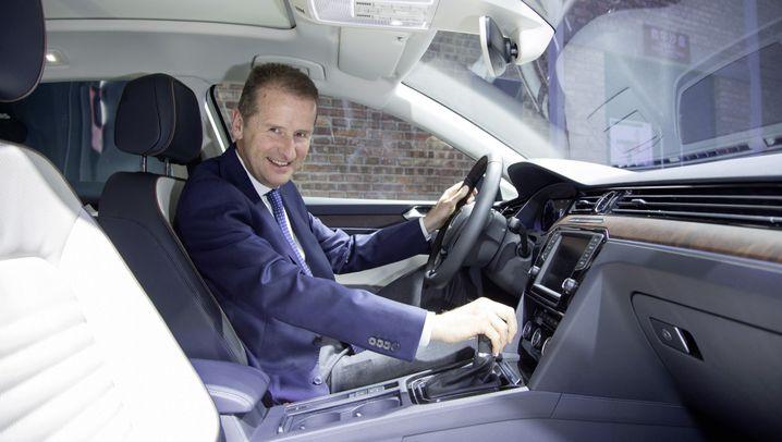 Konzernumbau: Herbert Diess' Weg an die Volkswagen-Spitze