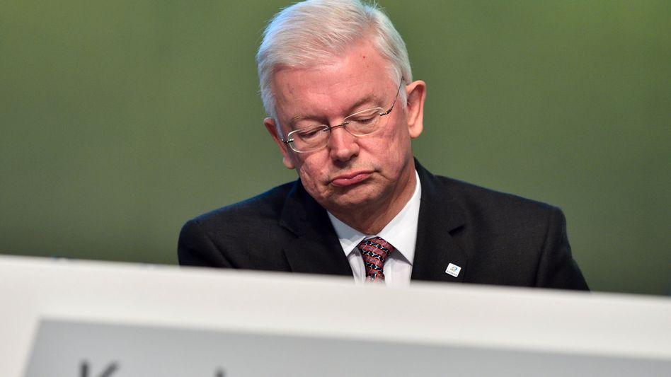 Versuchte von Juli 2011 bis August 2014 als Vorstandschef bei Bilfinger sein Glück: Hessens ehemaliger Ministerpräsident Roland Koch.