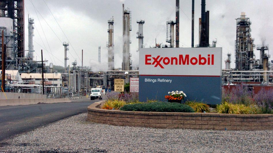 Raffinerie von ExxonMobil in Billings, Montana (Archiv)