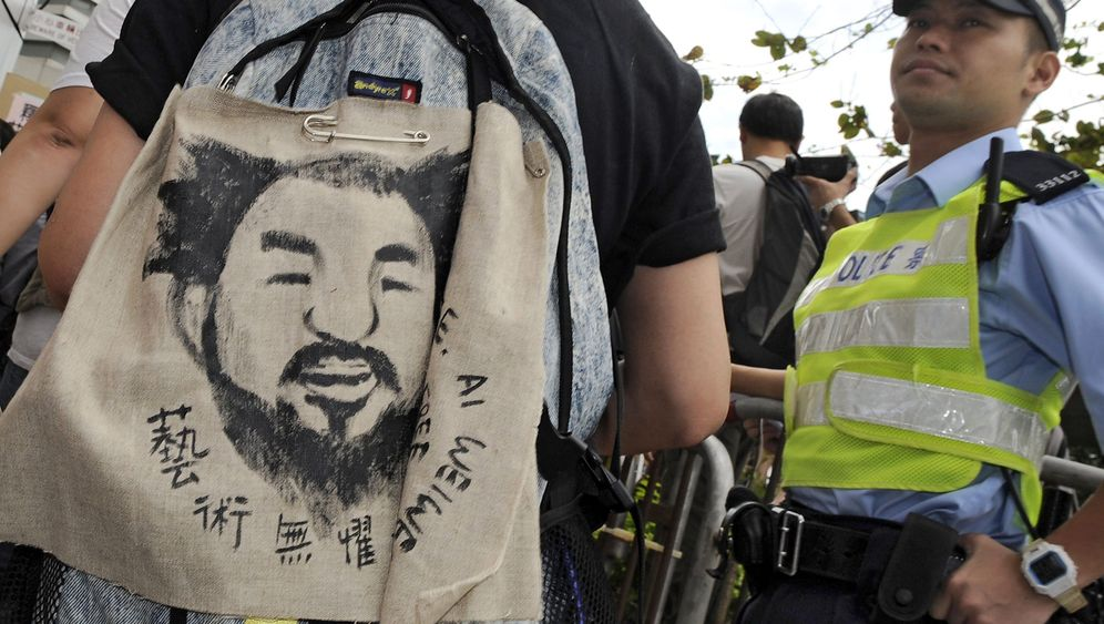 Photo Gallery: Where Is the Weiwei Protest?