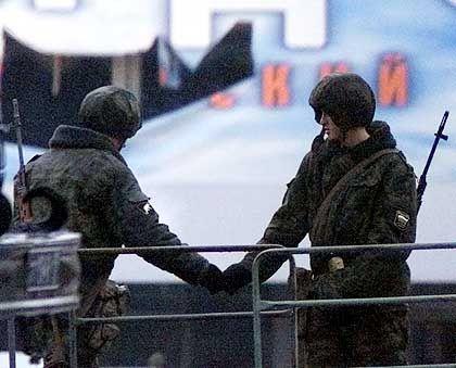 Die russische Polizei hatte offenbar einen Kollaborateur der Terroristen in ihren Reihen