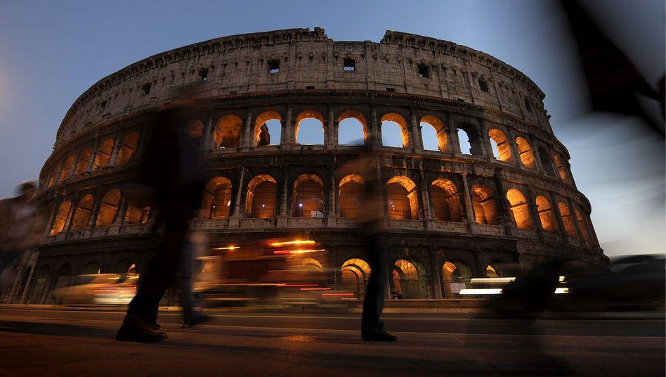 Kolosseum in Rom: Zum Generalstreik am Donnerstag eventuell geschlossen