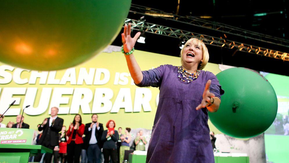 Claudia Roth: Begeisterung auf dem Bundesparteitag