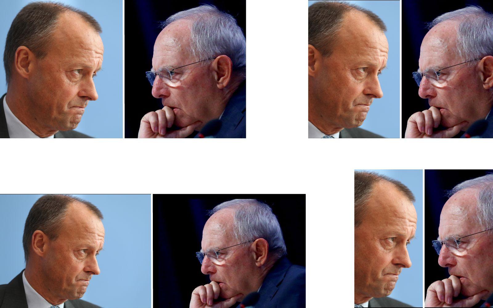 Kombo/ Schäuble/ Merz