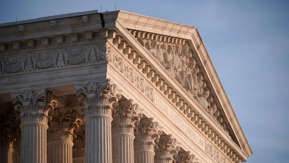 Der Supreme Court in Washington ist in konservativer Hand