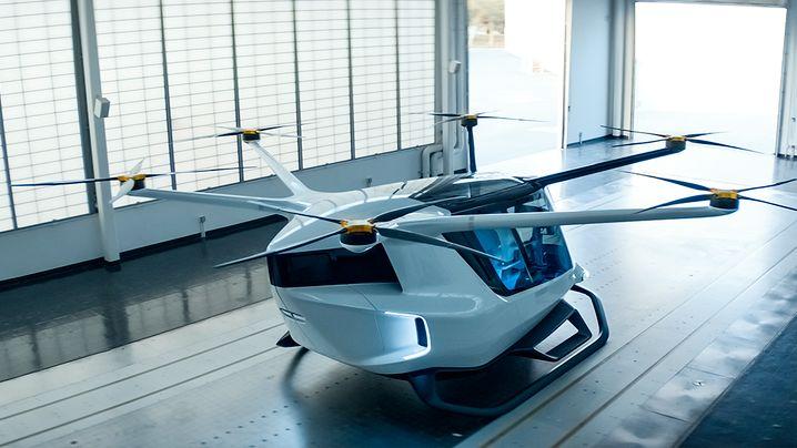 Prototyp: Erstes Flugtaxi mit Wasserstoffantrieb