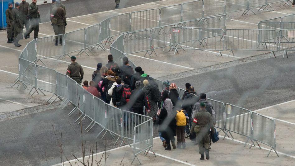 Flüchtlinge in Österreich (Archivbild)