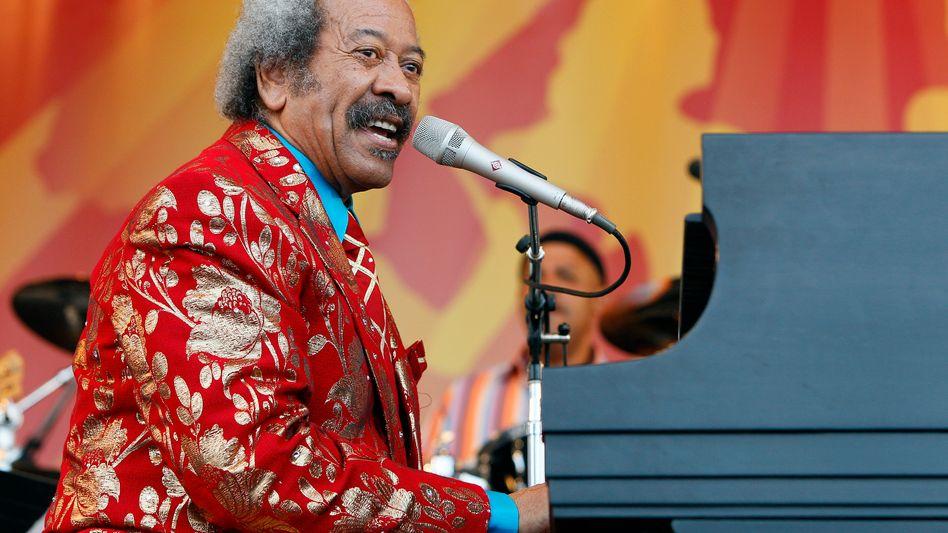 Allen Toussaint (in New Orleans 2011): Pianist, Produzent, Songwriter
