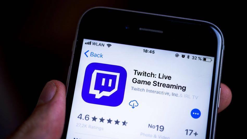 """Twitch-App (Archivbild): Mit """"Twitch Roulette"""" findet man kaum beachtete Streams"""