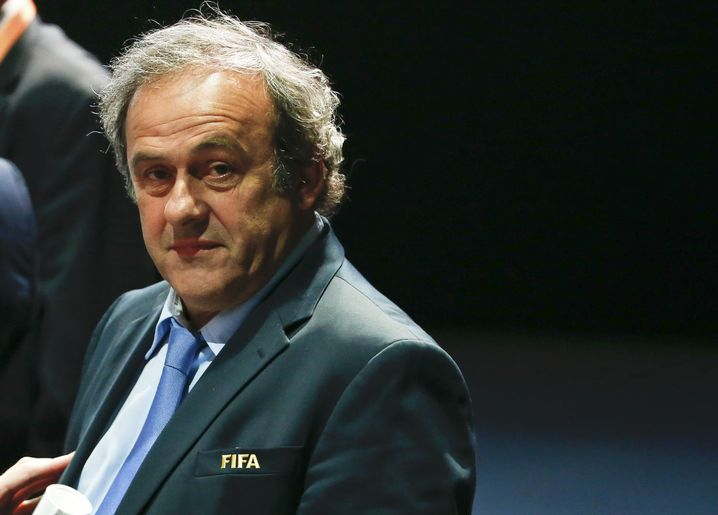 Uefa-Präsident Platini: Zu feige