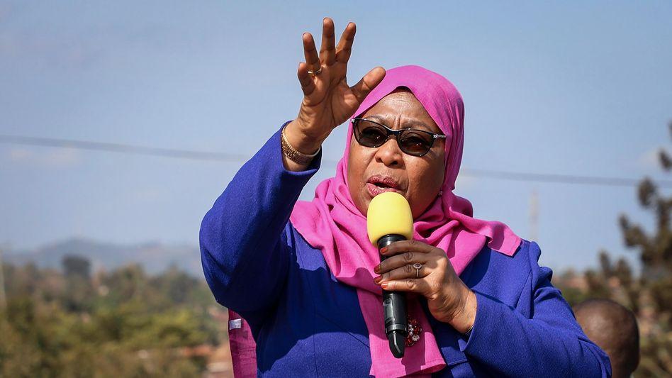 Will Tansania demokratisch führen: Samia Suluhu Hassan, die neue Präsidentin