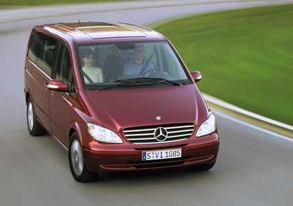 Trotz Volumen wohlproportioniert und elegant: Der neue Mercedes Viano