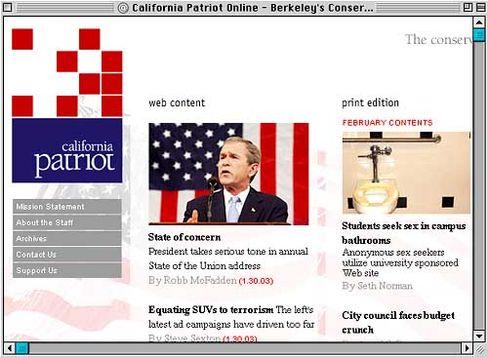 "Homepage des ""California Patriot"": Rechtsweg nicht ausgeschlossen"