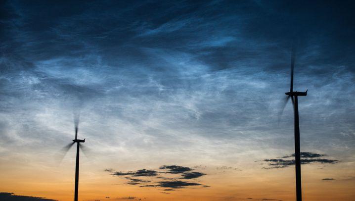 Licht an nach Sonnenuntergang: Leuchtende Nachtwolken im Juli 2016