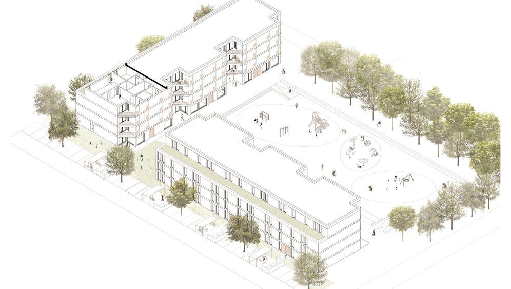 Günstig bauen: 8-Euro-Wohnungen in Hamburg