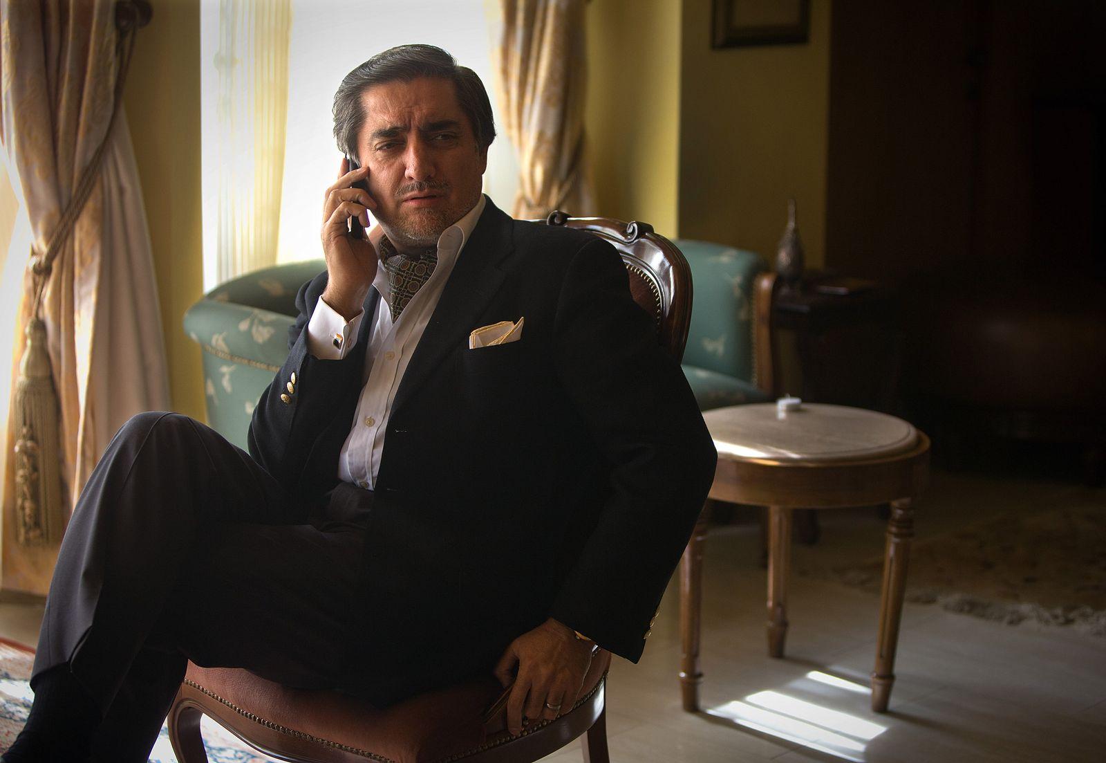 Afghanistan Abdullah Abdullah