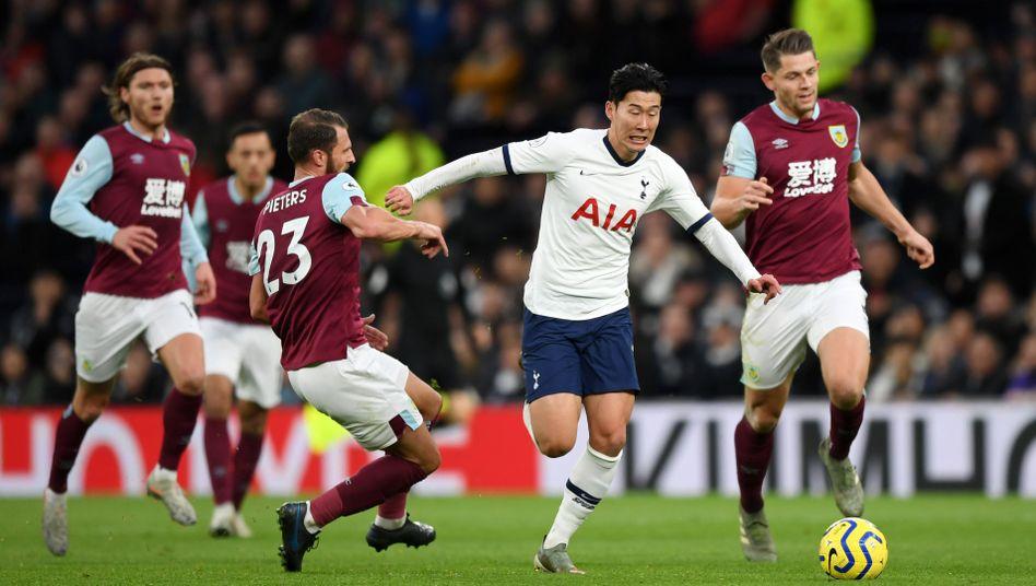 Sieben Gegenspieler ließ Son Heung-min bei seinem Sololauf stehen