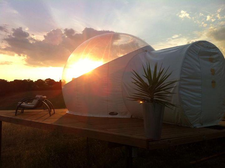 """""""Bubble Rooms"""": Bieten Platz für zwei Personen"""