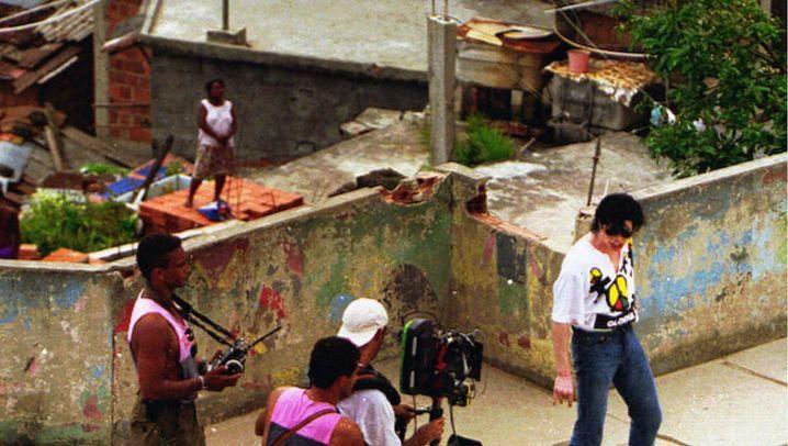 "Michael Jackson in Rio: ""King of Pop"" beim Slum-Dreh"