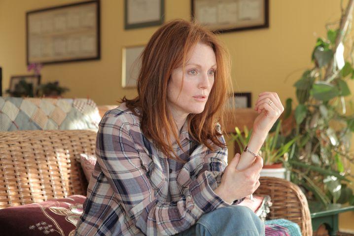 """Julianne Moore brilliert in """"Still Alice"""" als an Alzheimer erkrankte Professorin."""