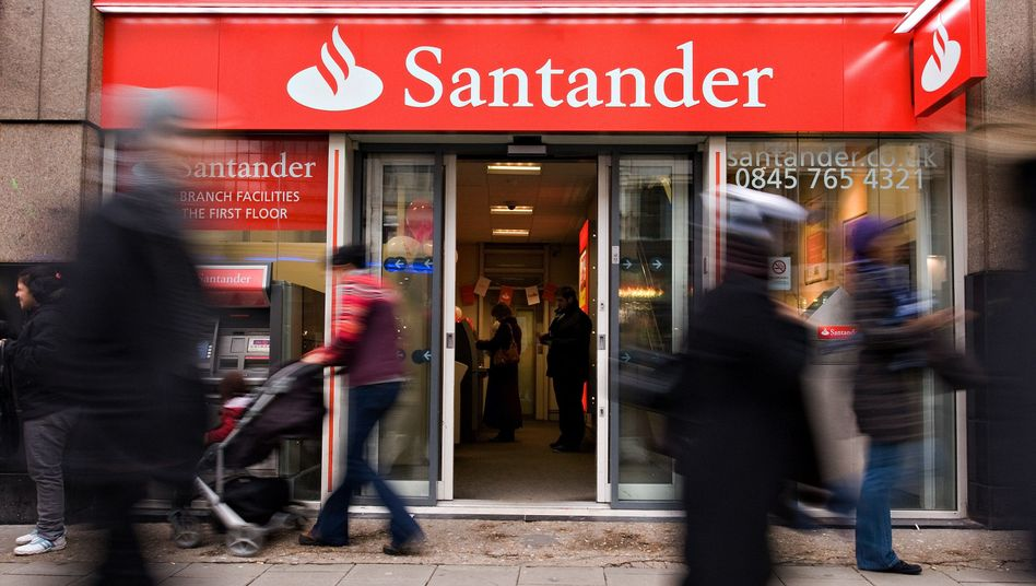 Santander-Filiale: Teure Adressermittlung