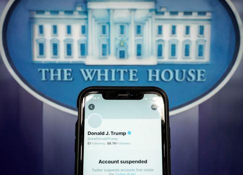 Symbolbild: Donald Trumps suspendierter Account