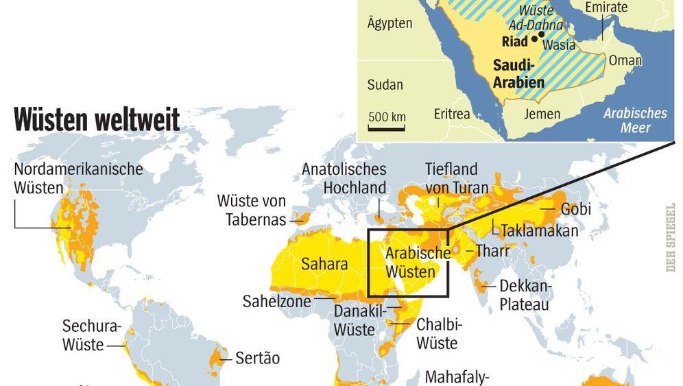 Erbe der Eiszeit: Suche nach dem verborgenen Wüsten-Wasser