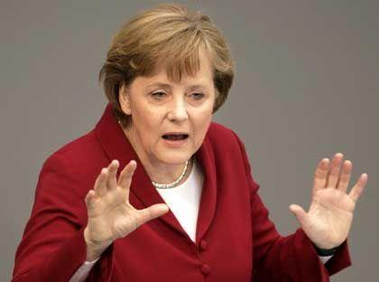 """Kanzlerin Merkel: """"Lasst uns machen, was wir uns vorgenommen haben"""""""