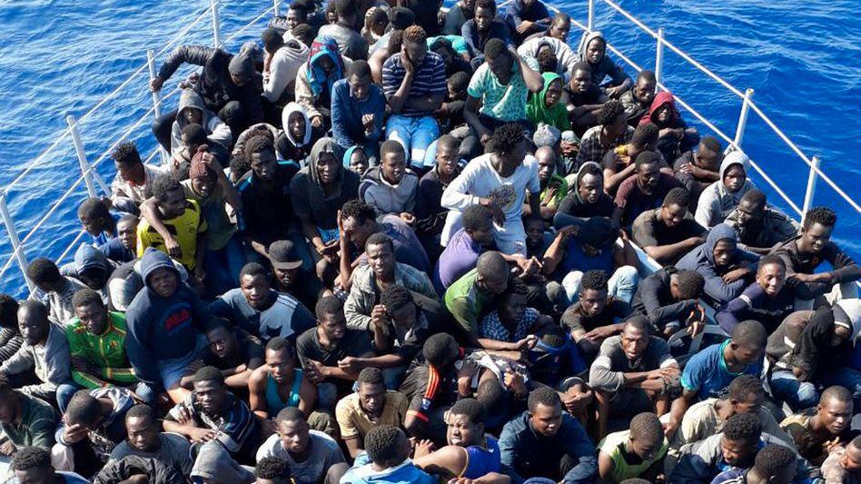 Afrikanische Migranten (Archivbild)