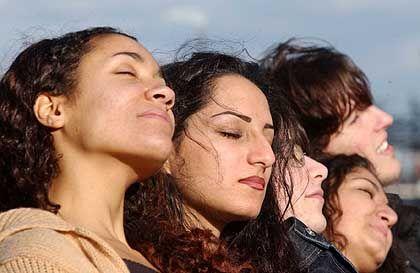 Sonnenhungrige: UV-Licht ist (auch) gesund