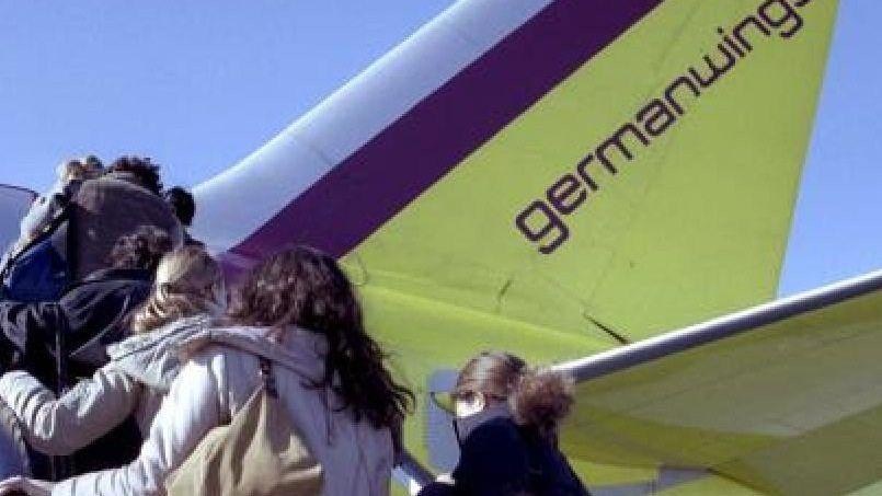 Flugzeugpassagiere