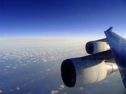 Jet in Reiseflughöhe: Segelflug wegen zu feuchter Luft?