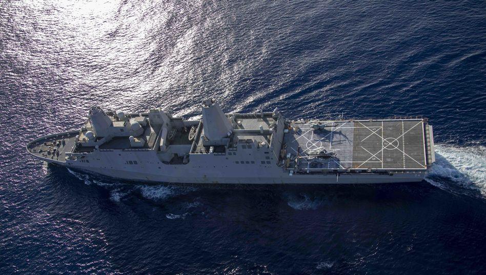 """""""USS Arlington"""": Weiteres Kriegsschiff der USA im Nahen Osten"""