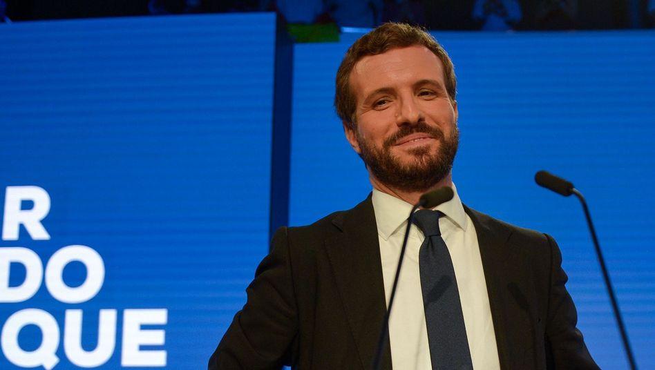 Pablo Casado von der Partido Popular (PP): Der künftige Regierungschef Spaniens?