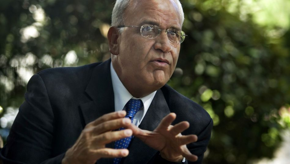 Saeb Erekat in Jerusalem (2009)