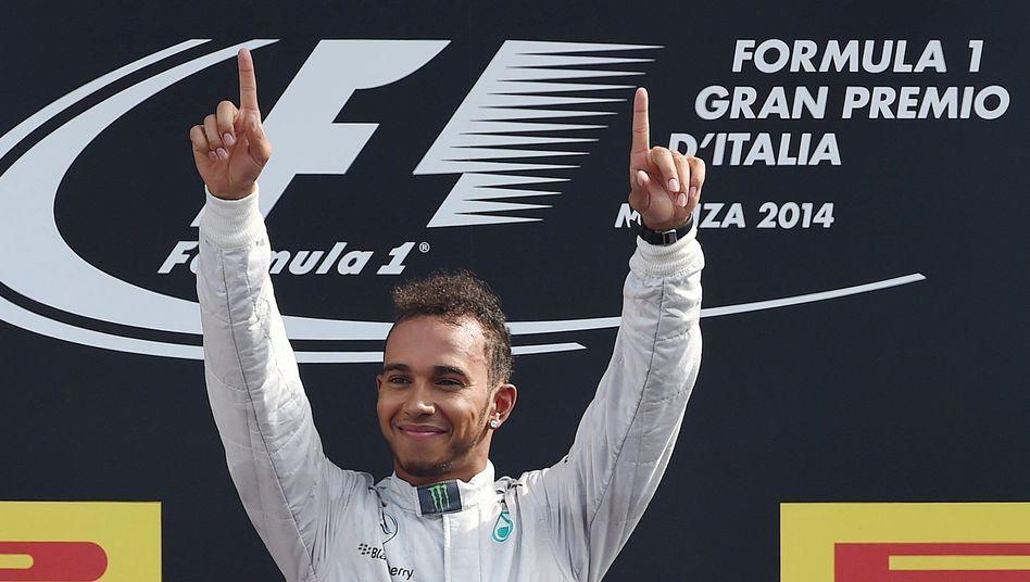 """Mercedes-Pilot Hamilton: """"Ein Prestigeerfolg für den Briten"""""""