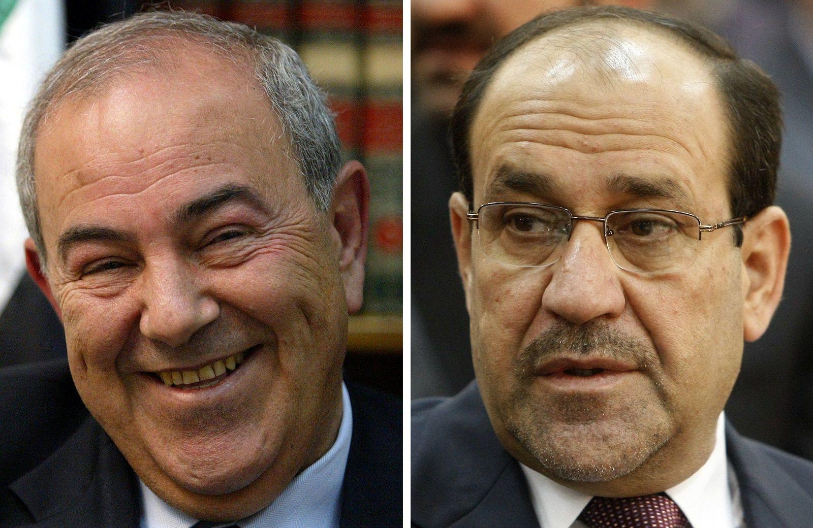 Irak Allawi Maliki